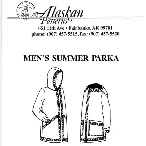 102 Mens Summer Parka Pattern