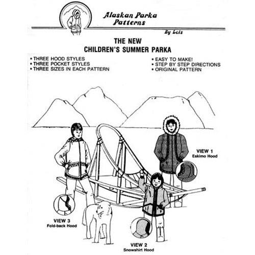 103 Childrens Summer Parka Pattern