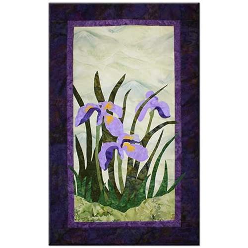 Wild Iris Pattern