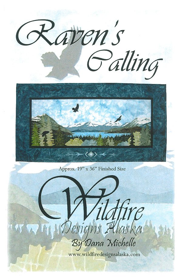 Raven's Calling Pattern by Wildfire Designs