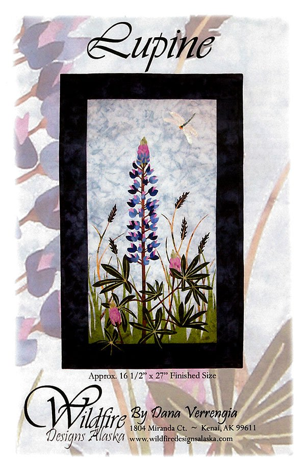 Lupine Wildfire Pattern by Wildfire Designs