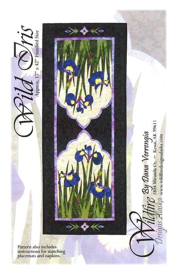 Wild Iris Pattern by Wildfire Designs