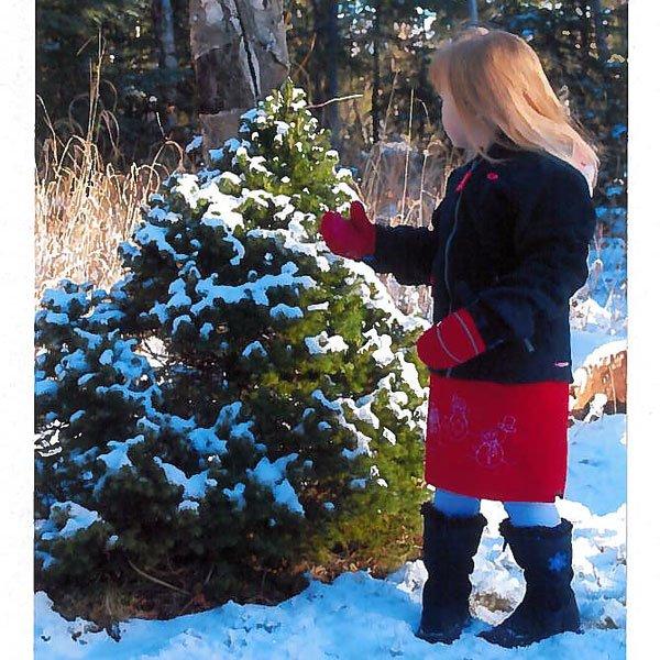 Snow Skirt Pattern Girl's