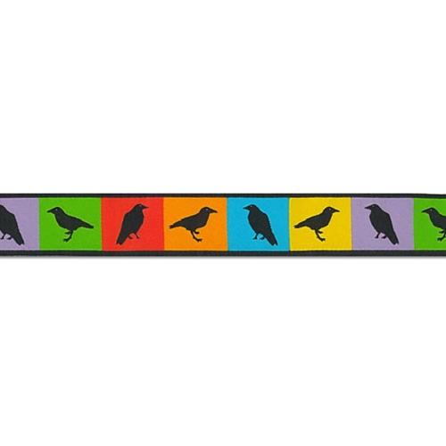7/8 Woven Trim AK Summer Ravens
