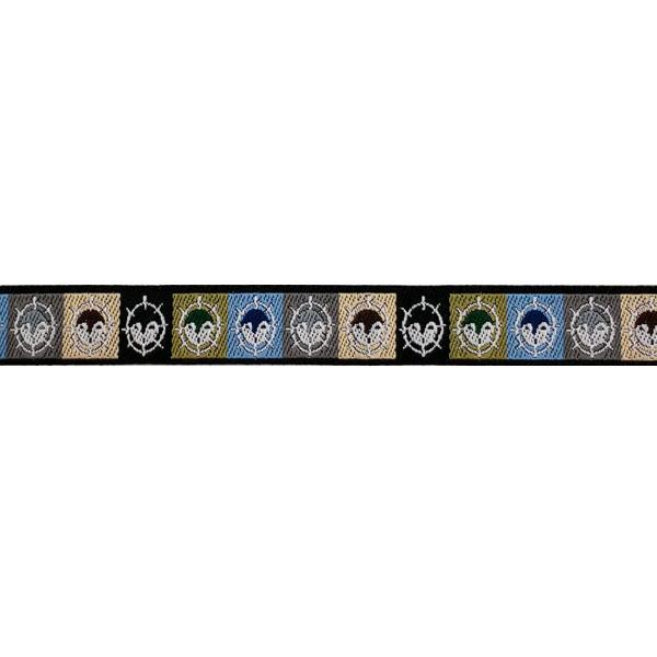 1/2 Woven Trim AK Moon Mask
