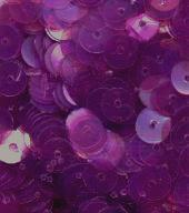 6mm Flat Sequins Dark Orchid