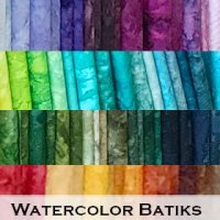 Watercolor Batiks