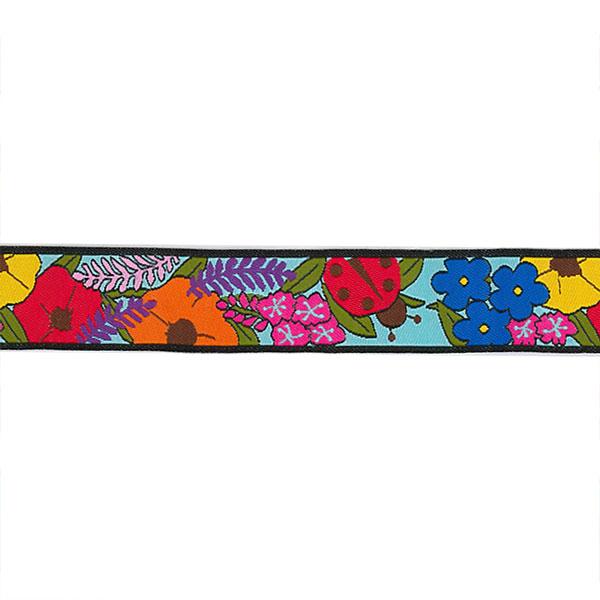 7/8 Woven Trim AK Floral