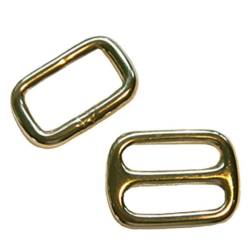 Brass Slide Buckle 1