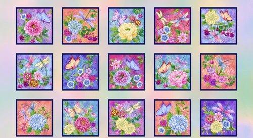 Gossamer Garden by Henry Glass 2648-10 Panel
