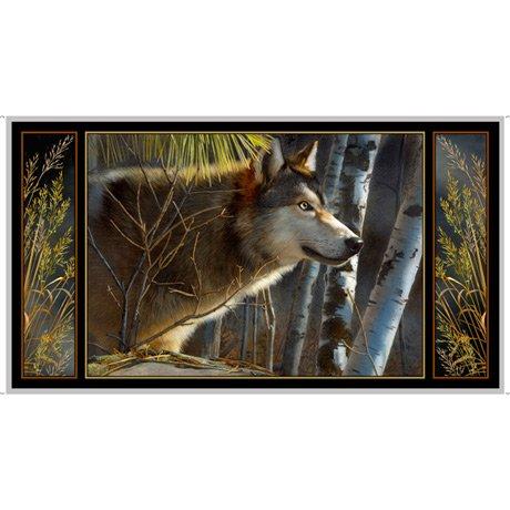 Majestic Wolf Panel- Majestic Wolves