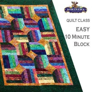 10 Minute Block Quilt