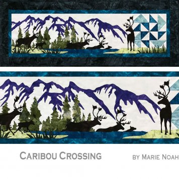 Caribou Crossing by Marie Noah