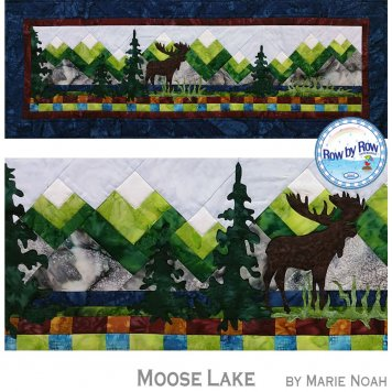 Moose Lake by Marie Noah