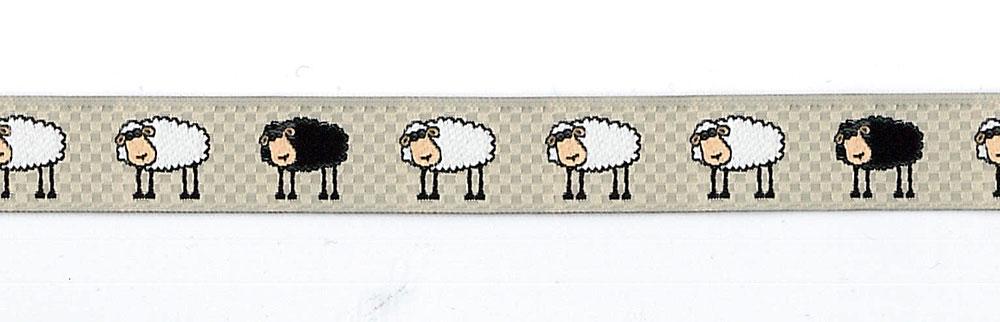 16mm Jacquard Moutons Sheep Trim