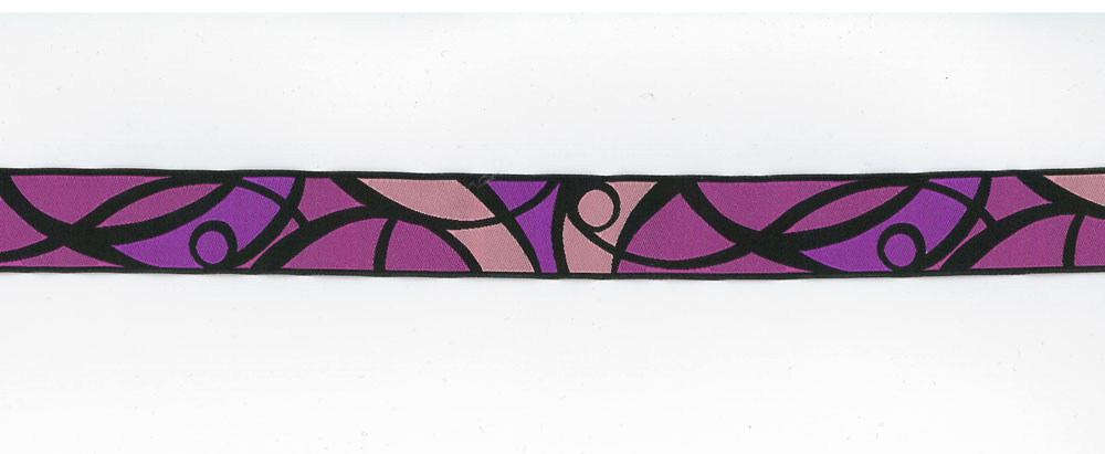 25mm Galon Fantaise Trim Purple