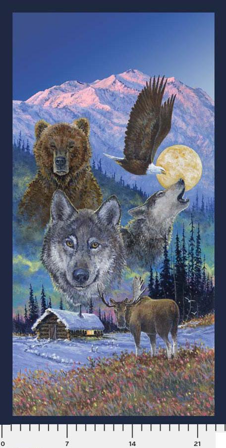 Northern Wildlife Panel Jon Van Zyle 26788
