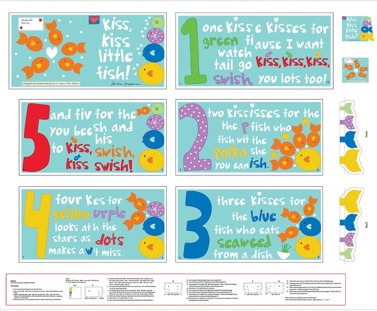 Hug&love Kiss Kiss Book 5532P-1