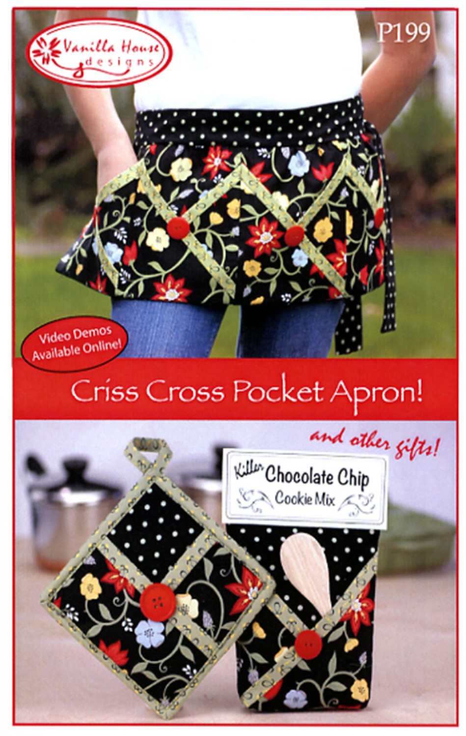 Criss Cross Pocket Apron and Gifts