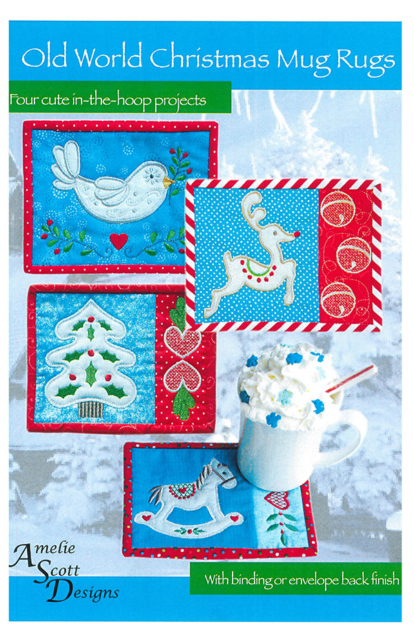 Old World Christmas Mug Rugs