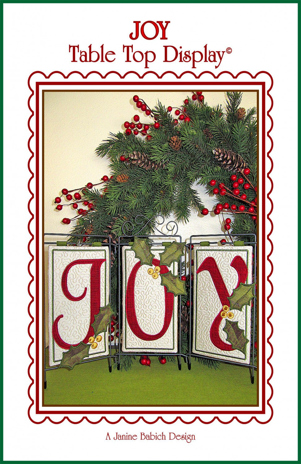 Joy Table Top Display by Janine Babich