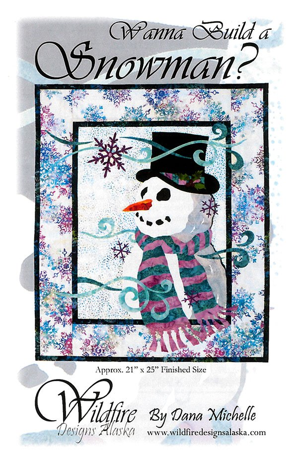 Wanna Build a Snowman? Pattern by Wildfire Designs