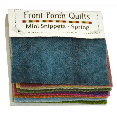 Hand Dyed Wool Mini Snippets Spring