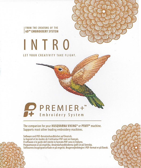 Premier Plus Intro Embroidery Software