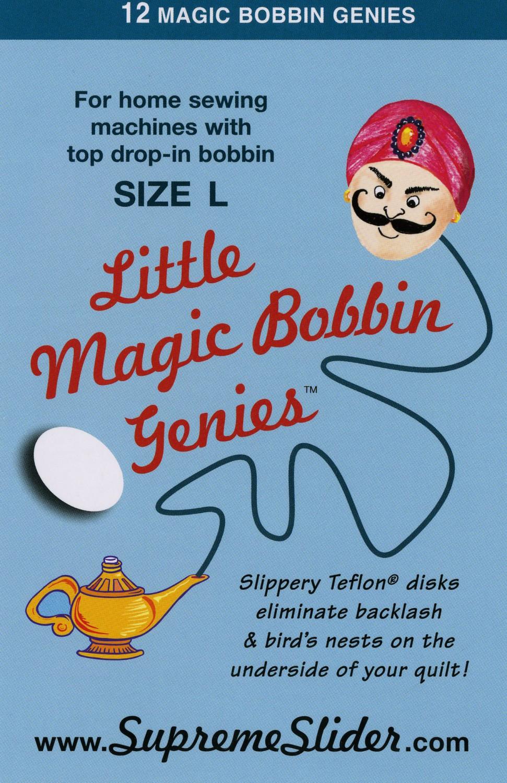 Little Genie Magic Drop-In Bobbin Washers Size L