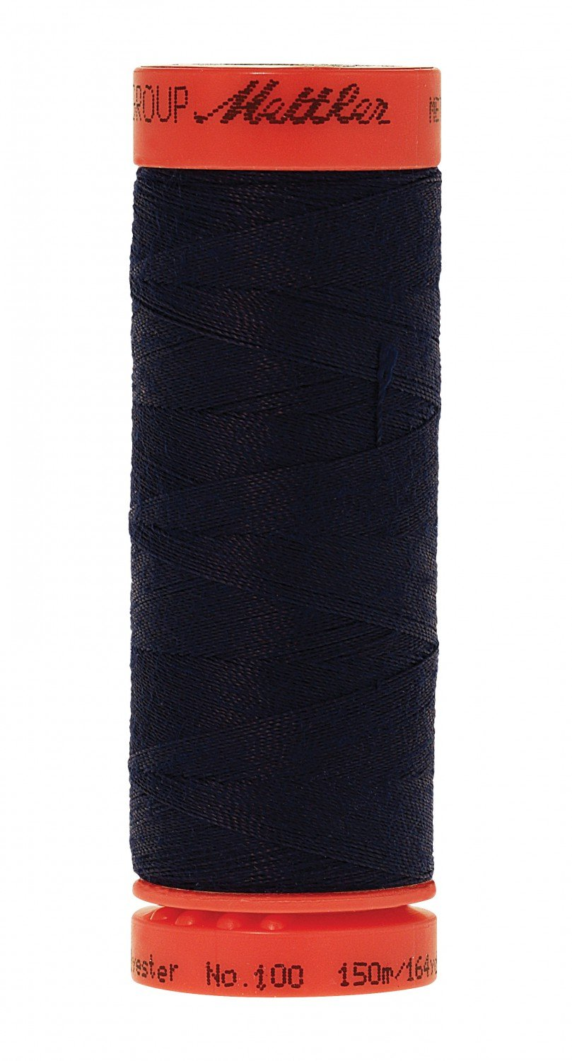 Mettler Metrosene All Purpose Thread 164 yd #0810 Blue Black (Old #0793)