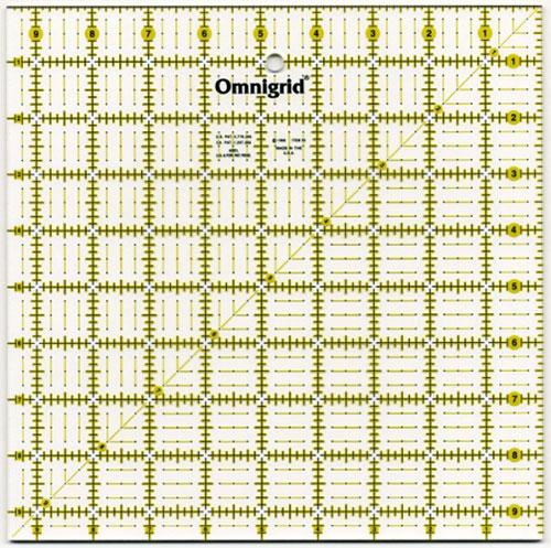 Omnigrid Square Ruler 9.5