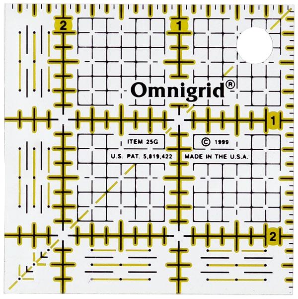 Omnigrid 2.5 Square Ruler