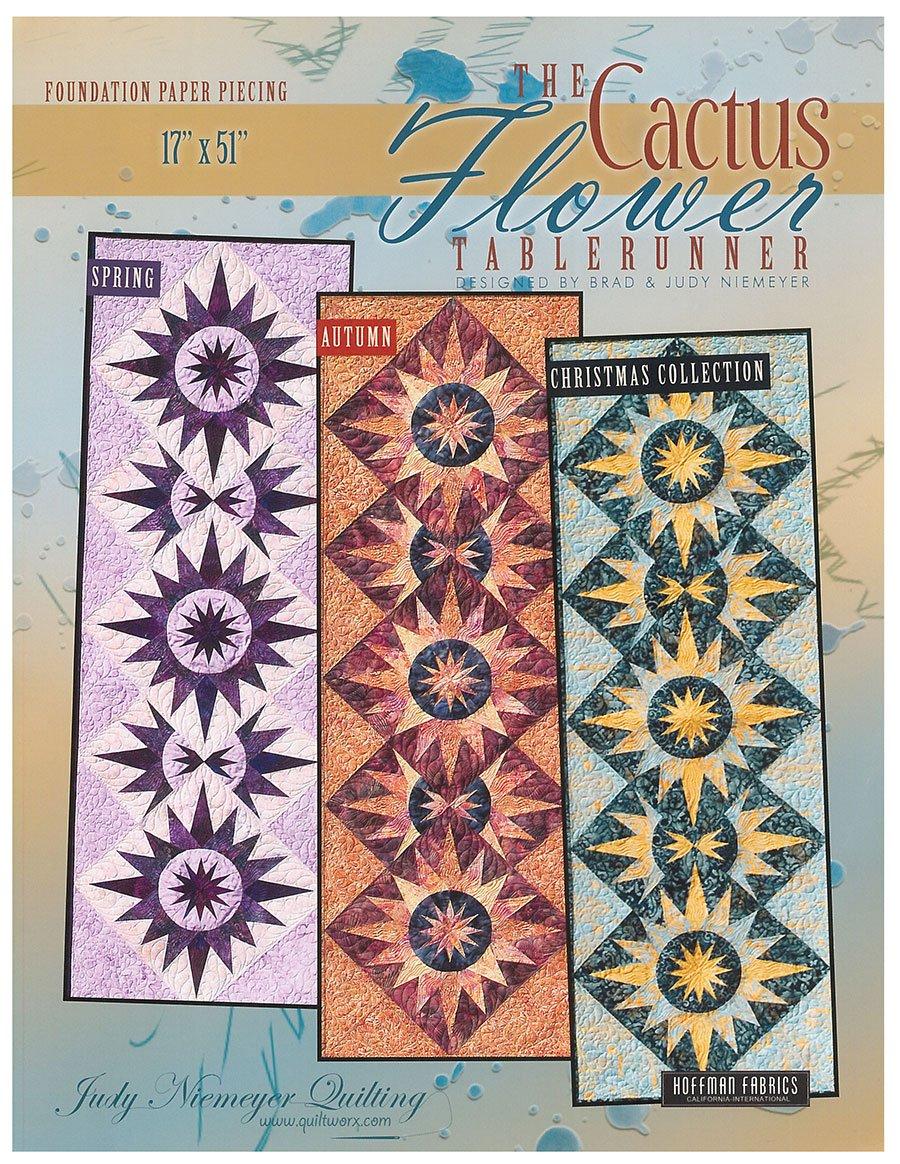 Cactus Flower Tablerunner By Judy Niemeyer 811823009800