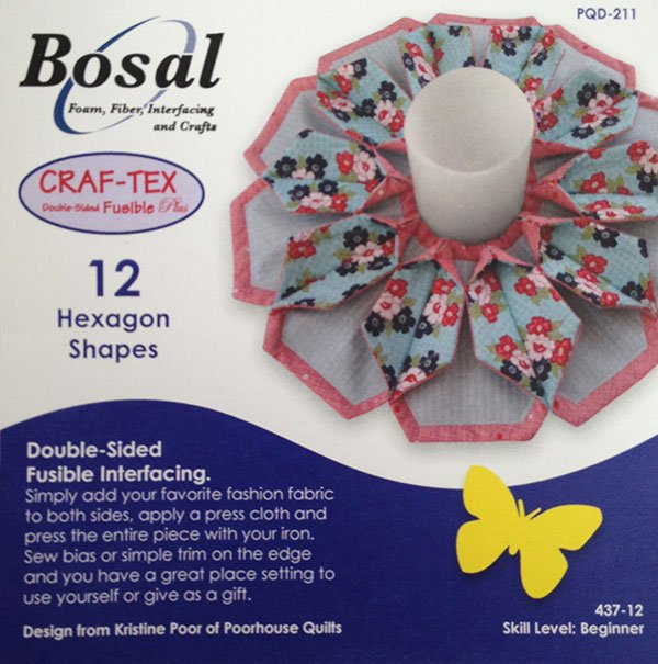 Bosal In-R-Form Double Sided 12 Hexagon Shapes
