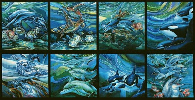 North American Wildlife Ocean Panel ABK-11496-59