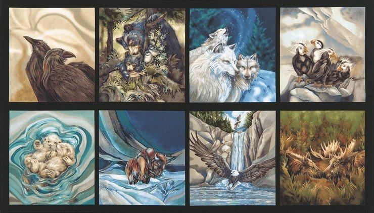 North American Wildlife Nature Panel ABK-15863-268