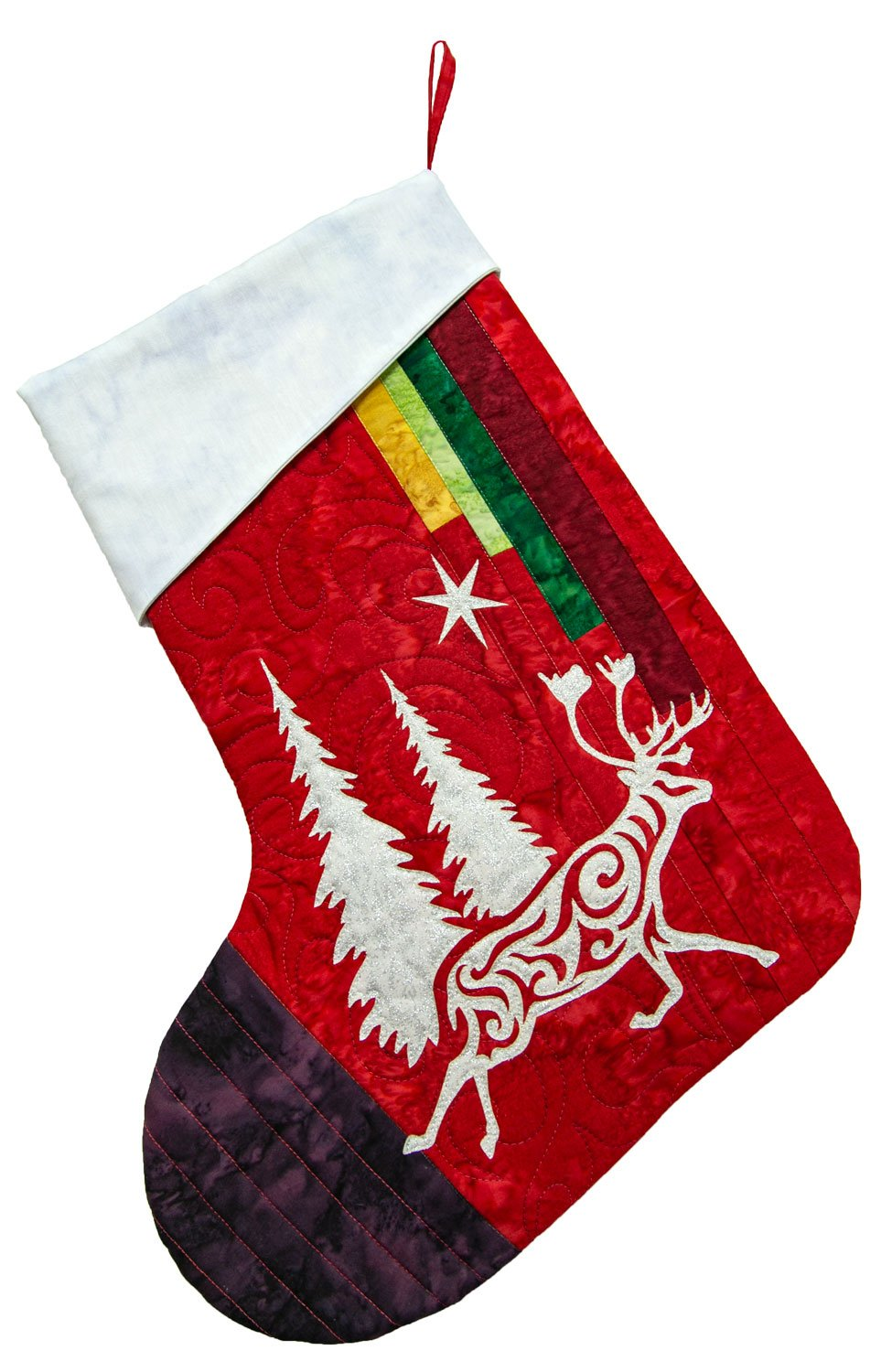 Arctic Holiday Stocking Kit Red