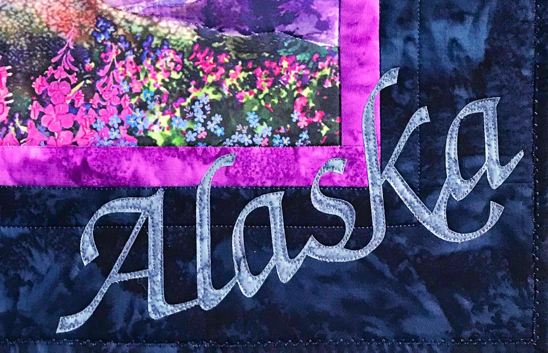 Alaska Pre-Cut Laser Applique