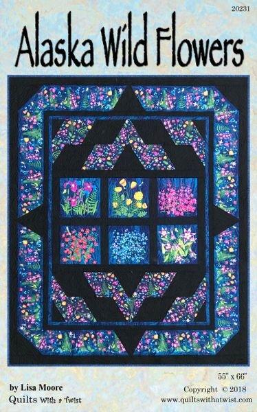 Alaska Wildflowers Quilt Pattern