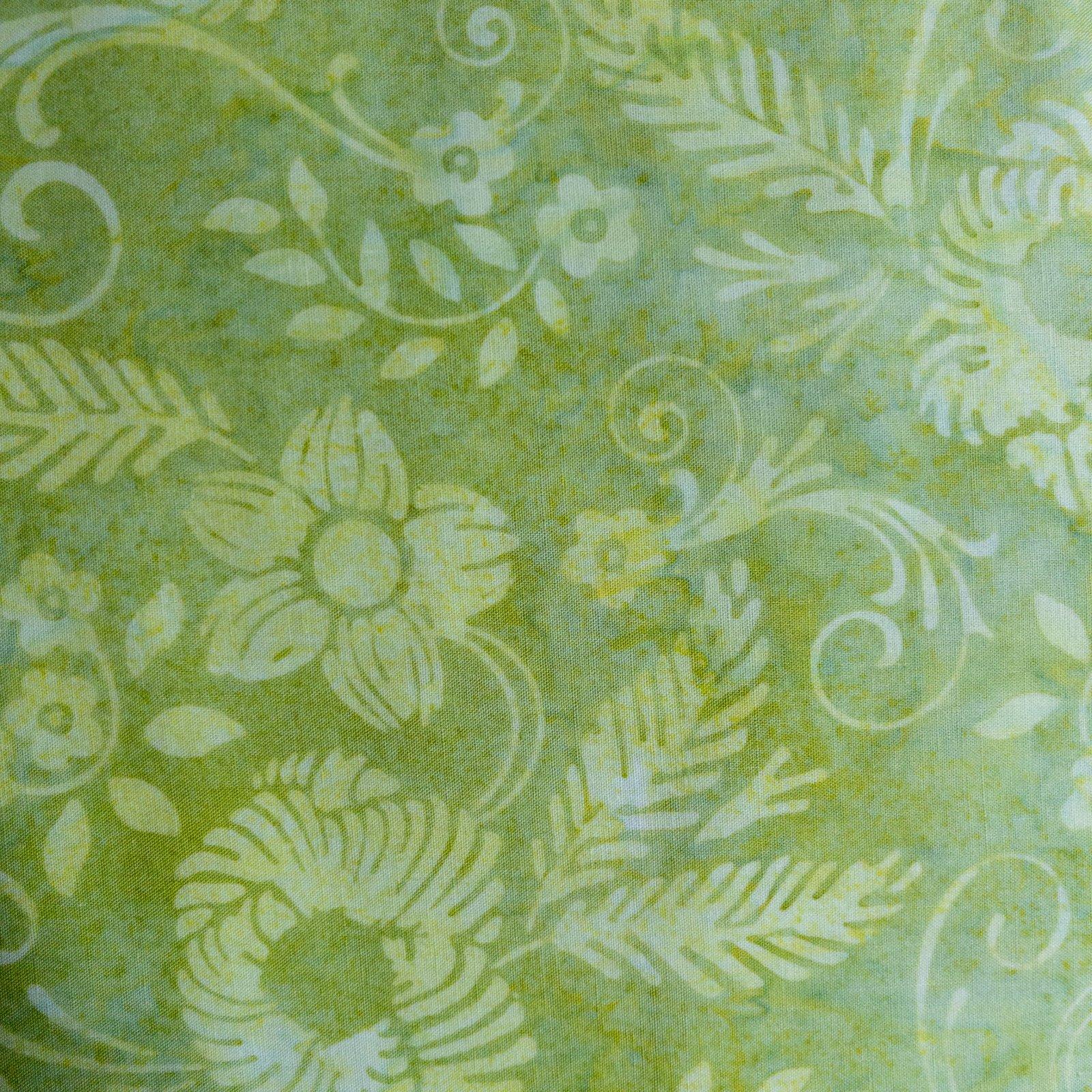 Bali Batik-Flower Swirls Paisley