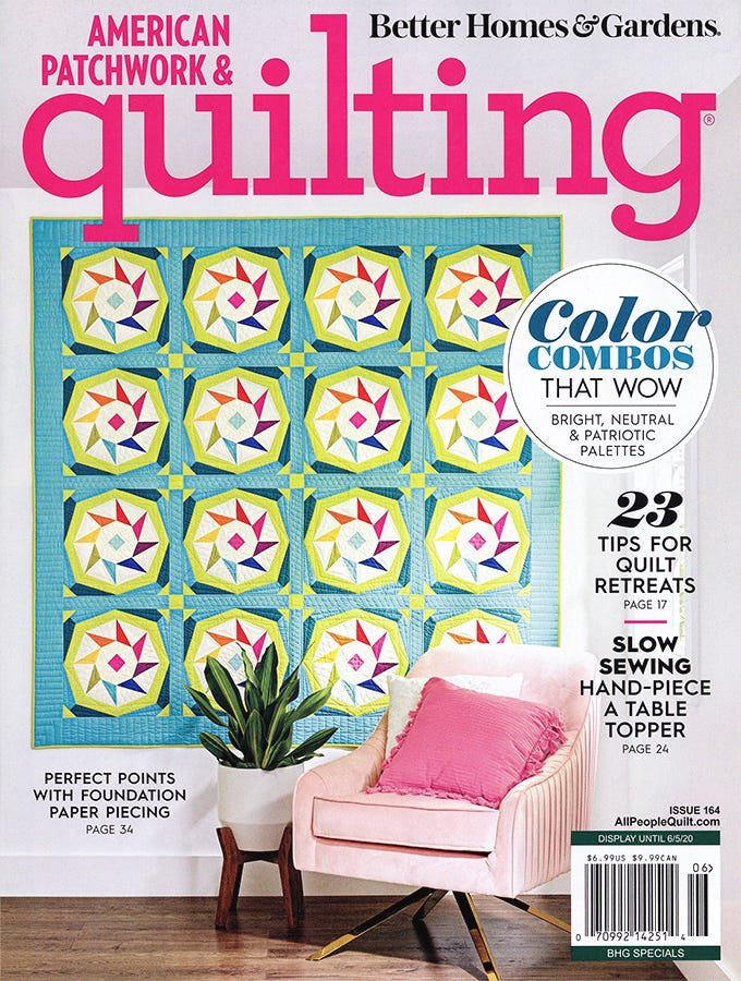 American Patchwork & Quilting Issue 164 - 2020