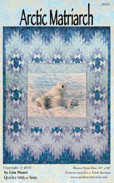 Arctic Matriarch Pattern by Quilts with a Twist