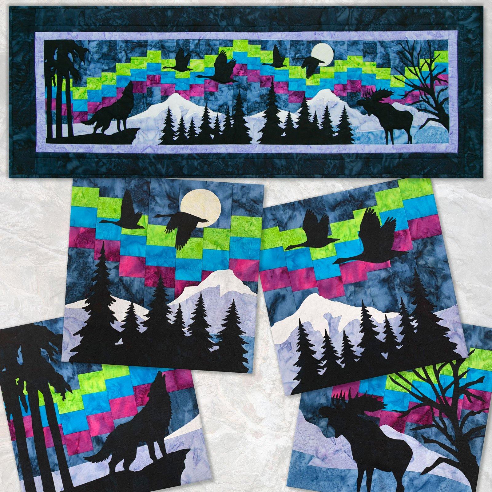 Aurora Dream Kit Quilters Trek 2020