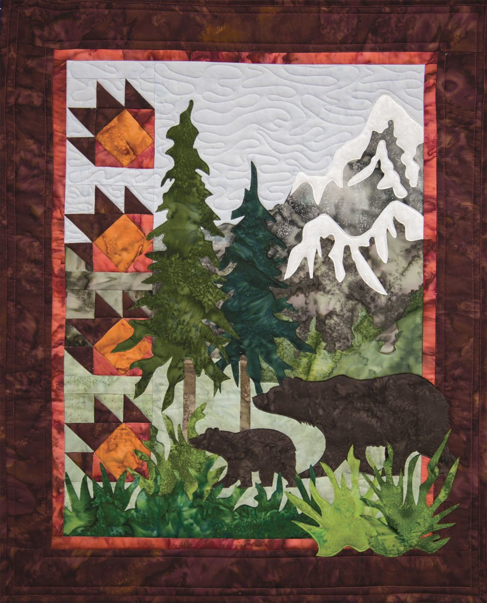 Bear Country Wall Quilt Kit