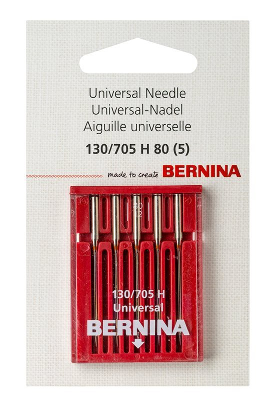 Bernina Universal Needle 130/705 H 100 5 Pk