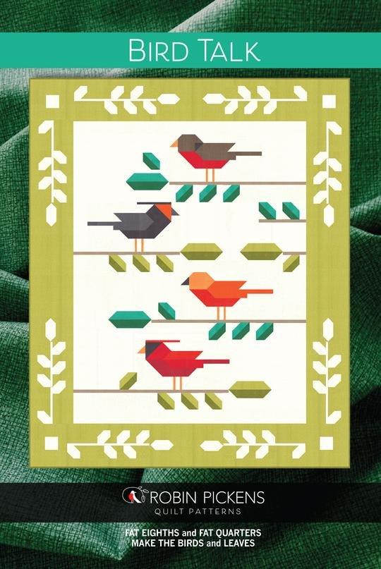 Bird Talk Pattern by Robin Pickens