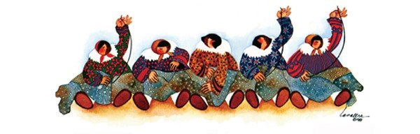Eskimo Stitchery by Barbara Lavallee