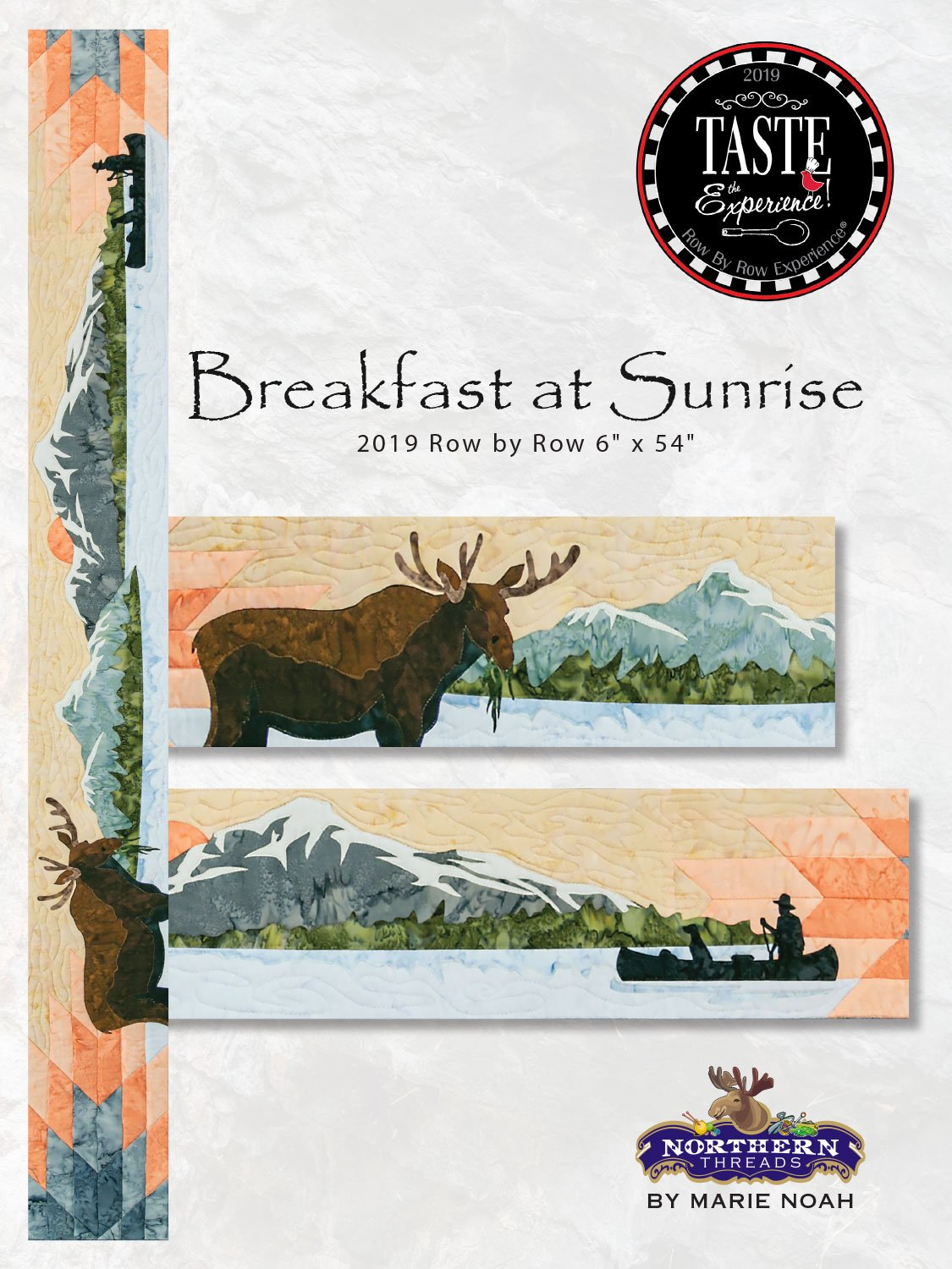Breakfast at Sunrise Pattern Row by Row 2019