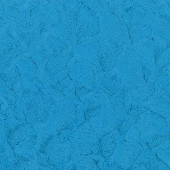 Minky Beary Soft Polyester Fur - Catalina