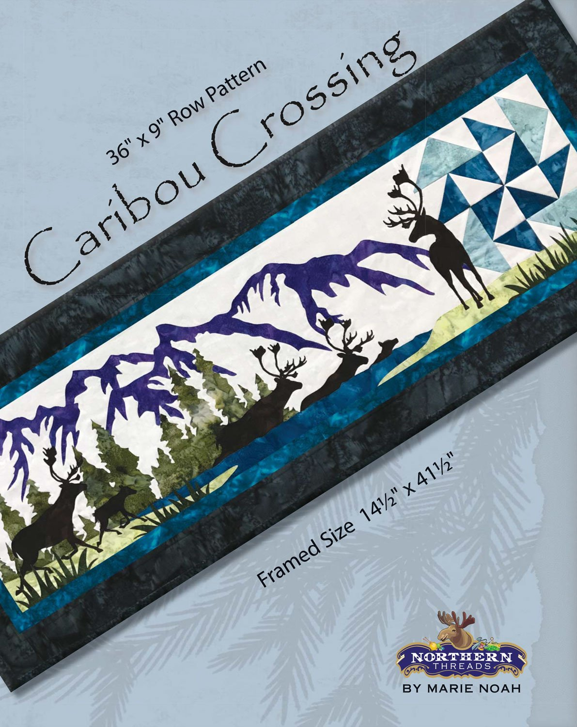 Caribou Crossing Row Pattern